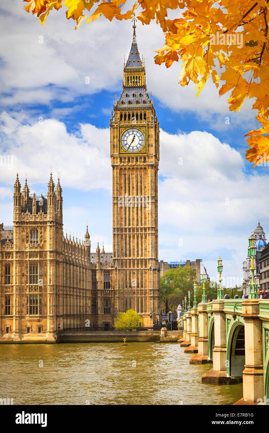 El Big Ben de Londres Imagen De Stock