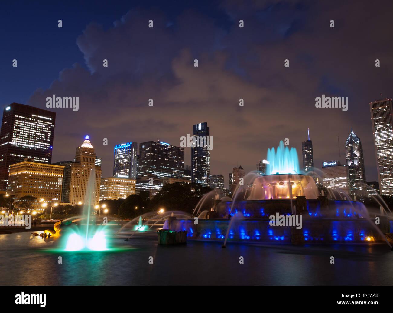 Grant Park Chicago Imágenes De Stock & Grant Park Chicago Fotos De ...