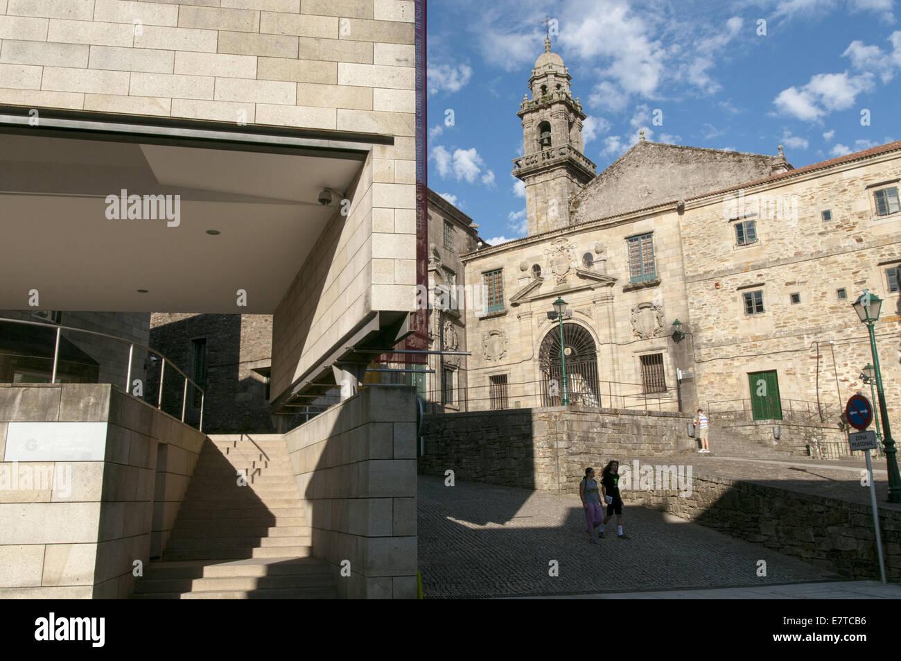 Arquitectos santiago de compostela great estado actual de la fachada oeste de la catedral - Arquitectos santiago de compostela ...