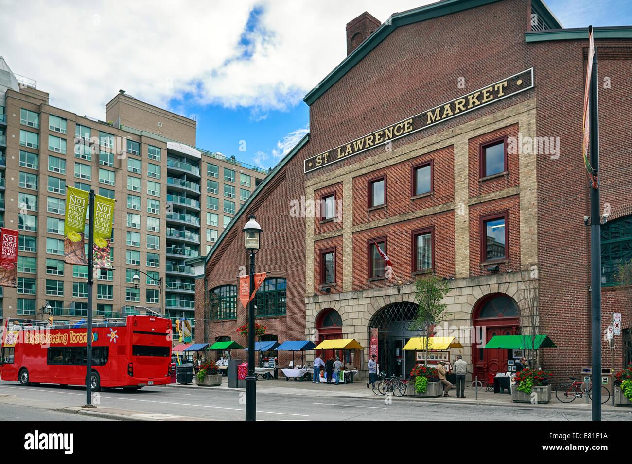 Mercado de San Lorenzo, en Toronto, Ontario, Canadá Imagen De Stock