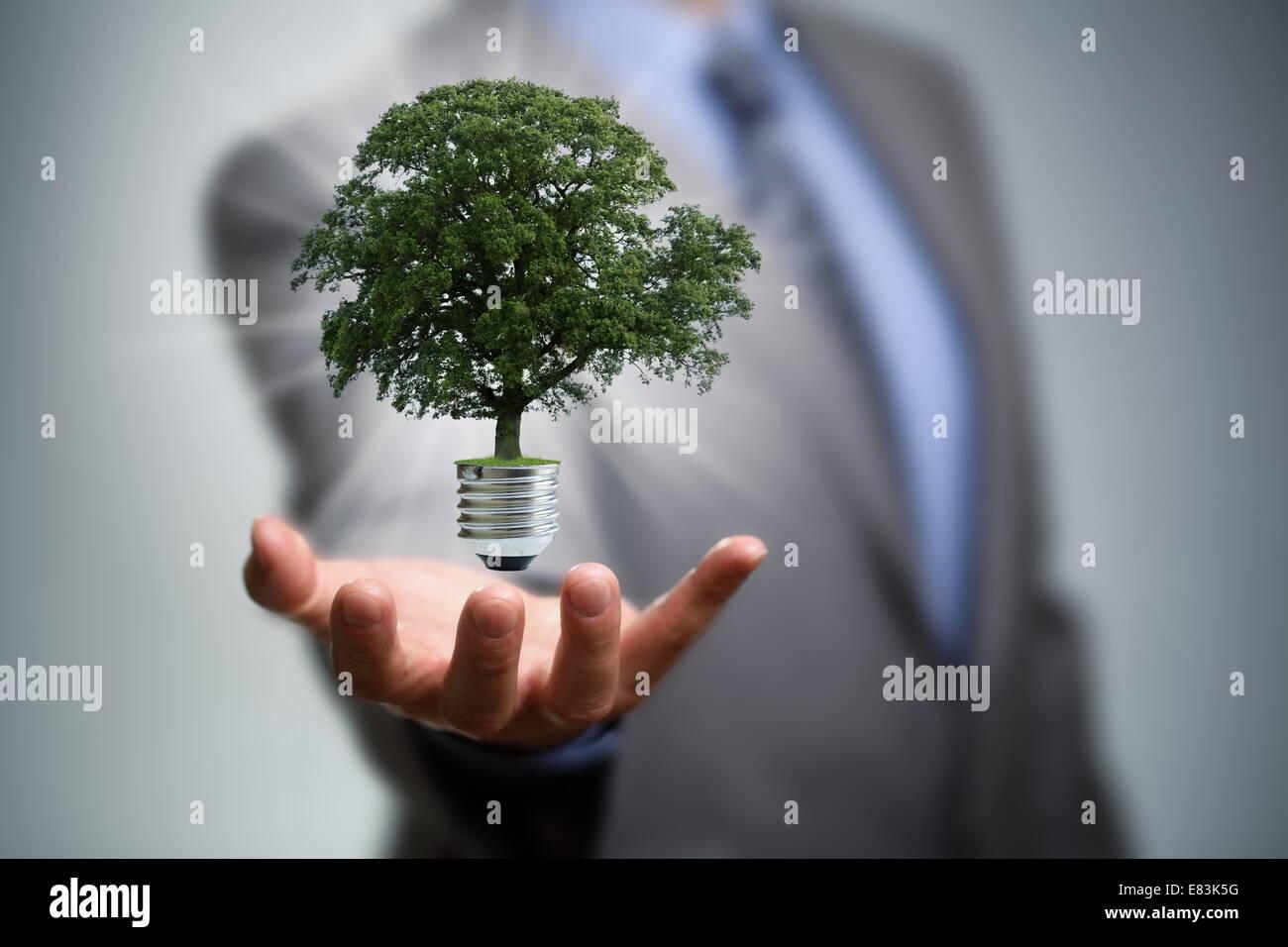 Energía limpia Imagen De Stock