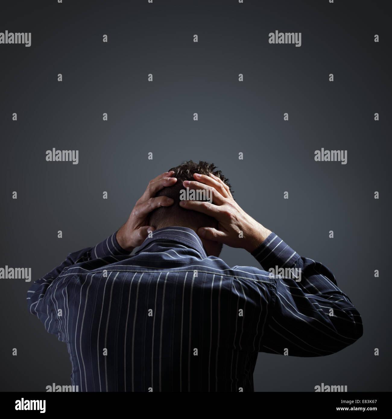 Depresión Imagen De Stock