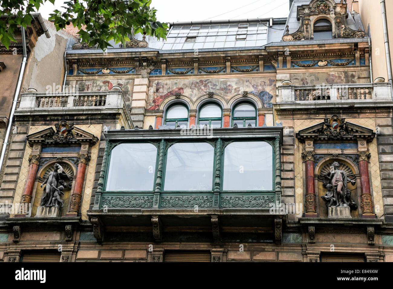 Budapest, Hungría Mai Mano cafe Imagen De Stock