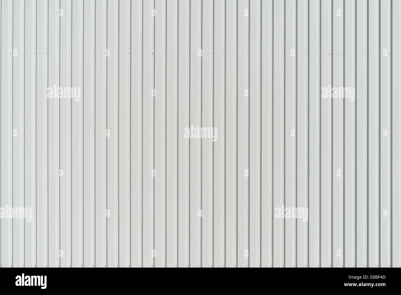 Paneles de pared blanco Imagen De Stock