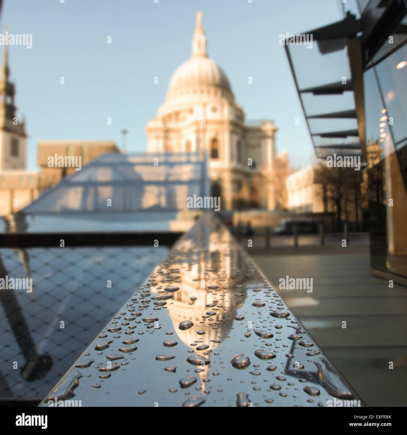 Reino Unido, Londres, vista de la Catedral de San Pablo Imagen De Stock