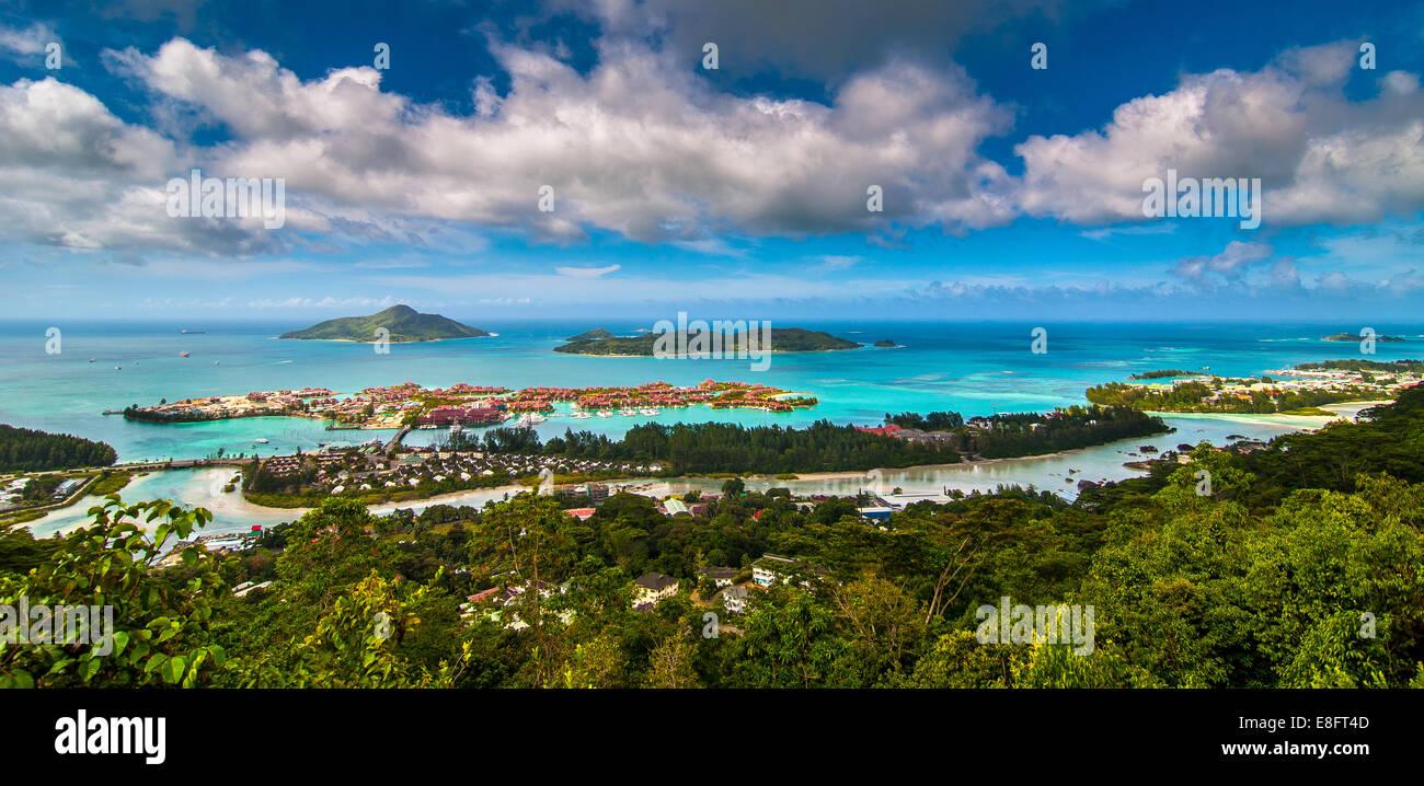 Seychelles, Victoria, imagen del complejo turístico Imagen De Stock