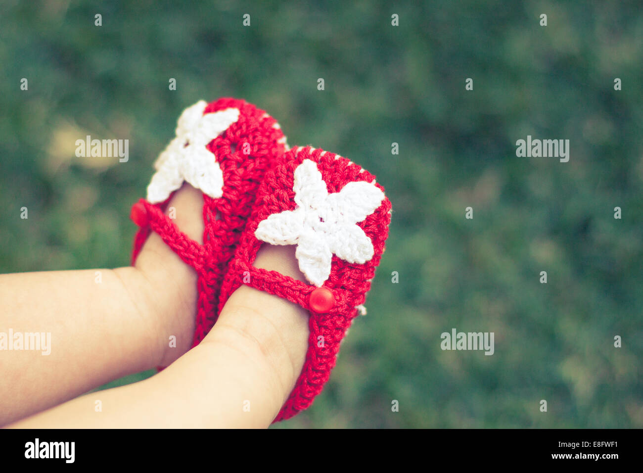 Zapatos de bebé Imagen De Stock
