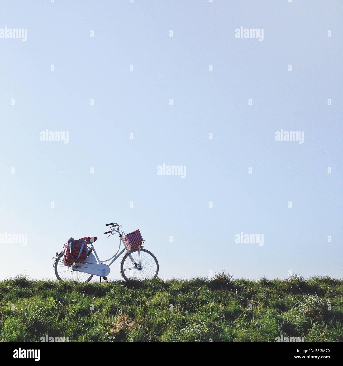 Países Bajos, Blaricum, Dutch bike Imagen De Stock