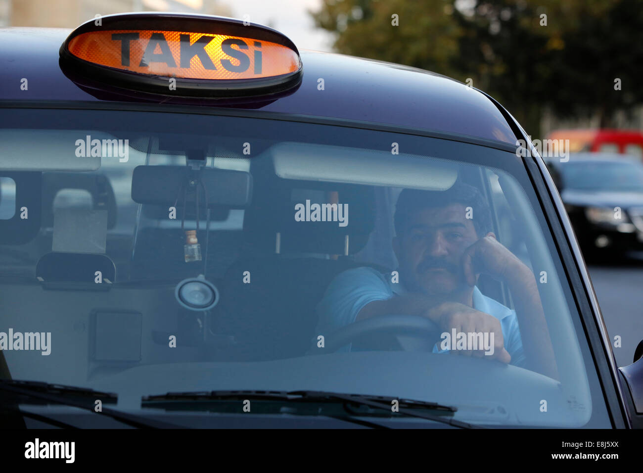 Taxi de Bakú Imagen De Stock