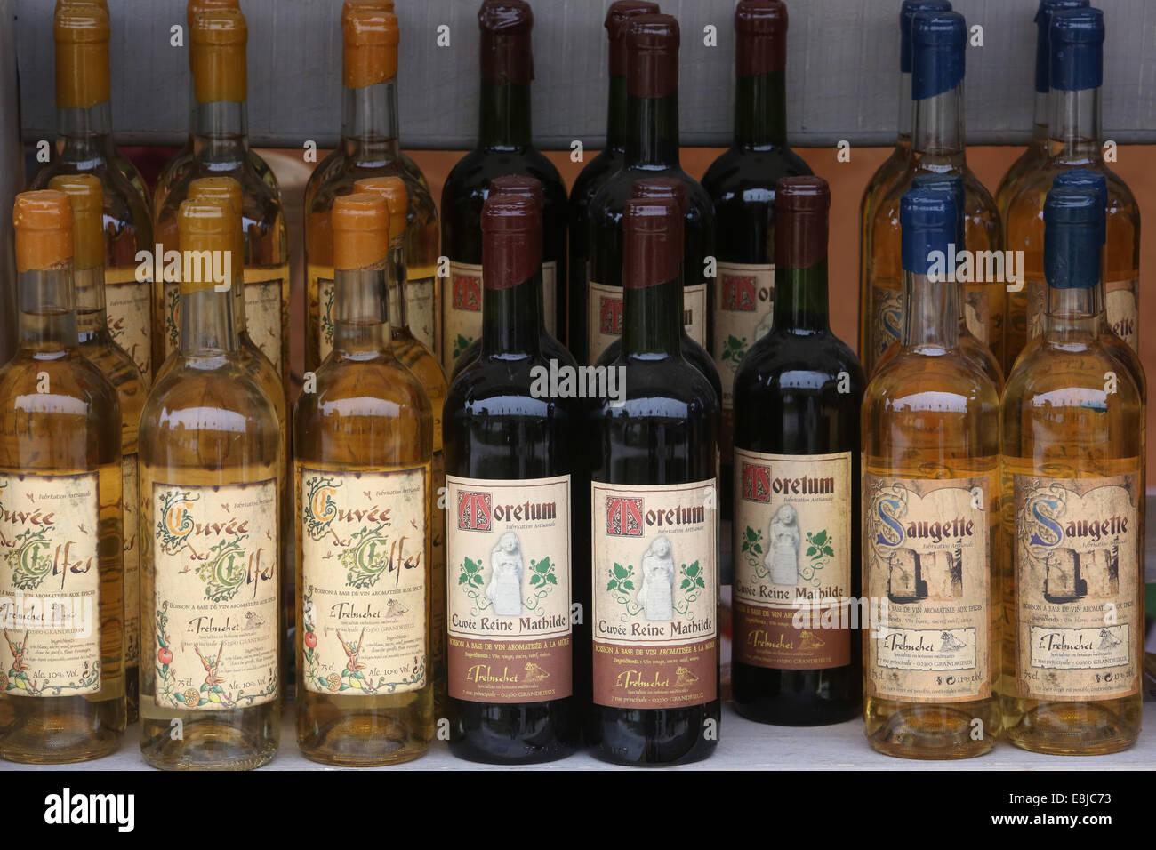 El comercio de vino. La producción de vino. Imagen De Stock