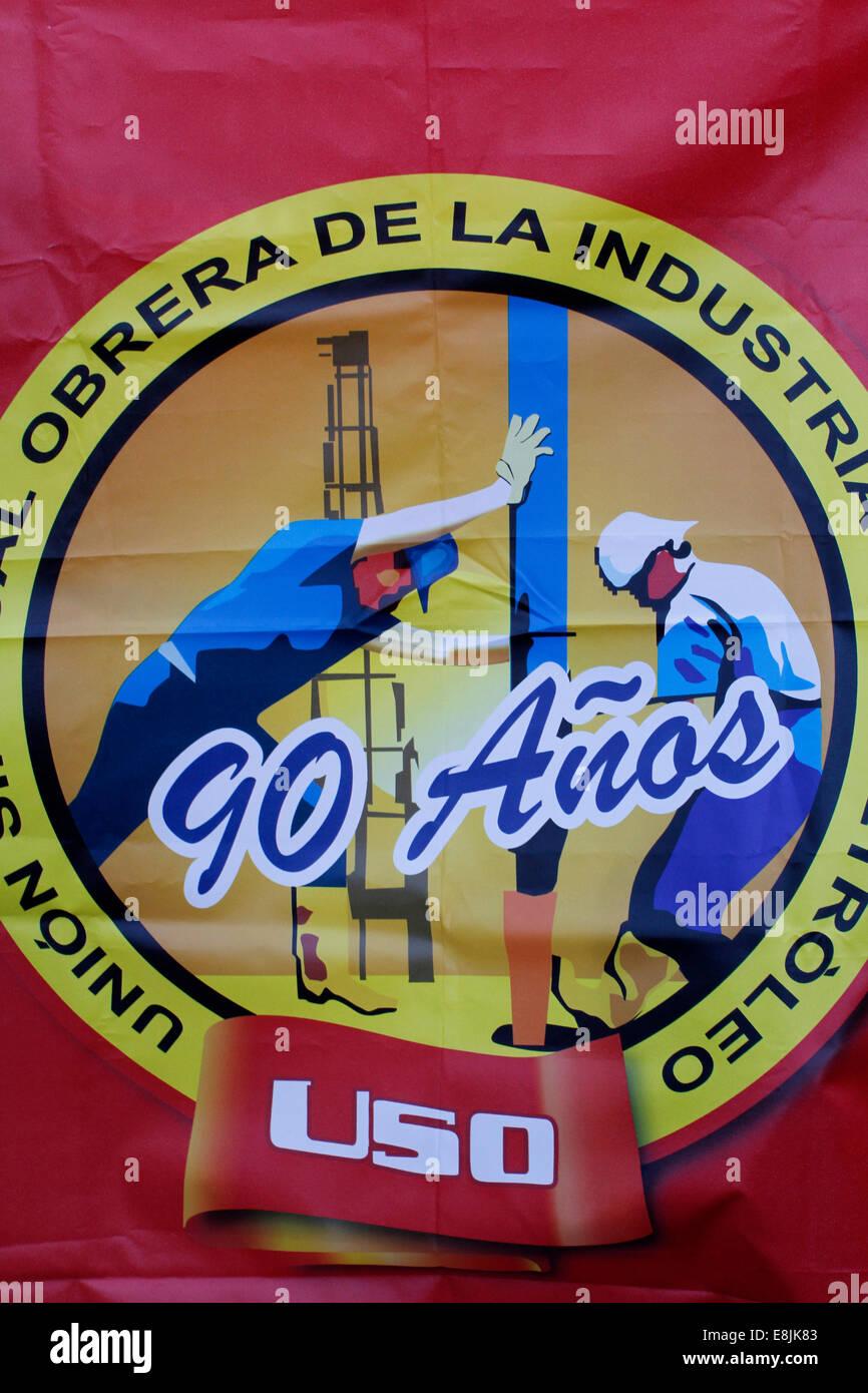 Banner sindicales Imagen De Stock