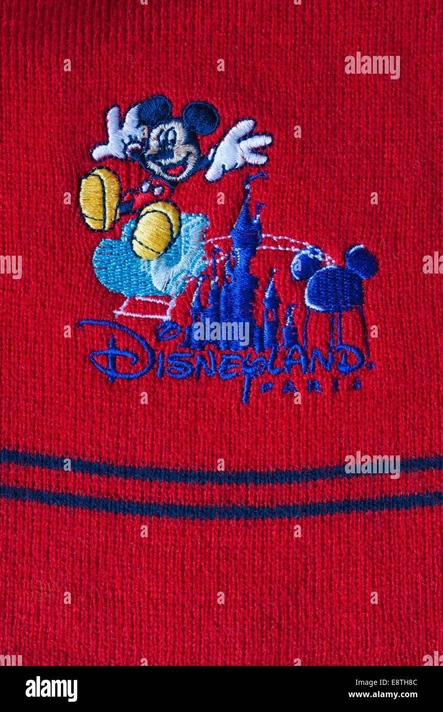 fotos oficiales ad93c 1a78d Disneyland Paris bufanda del niño con el logotipo de Mickey ...