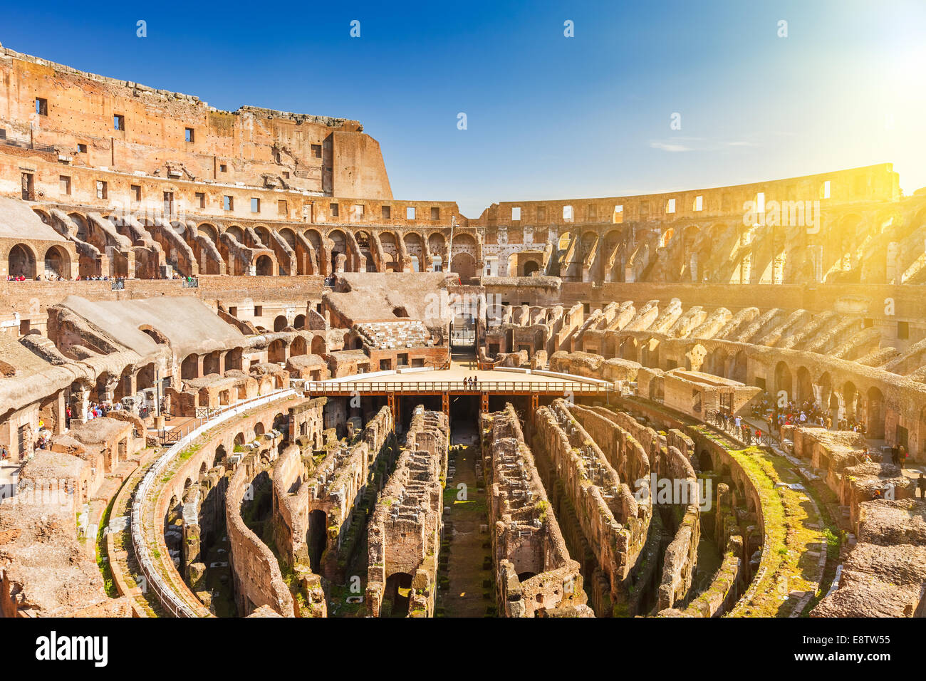 Coliseo de Roma Imagen De Stock
