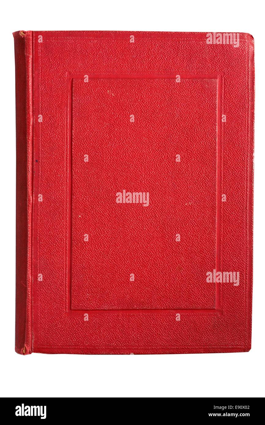 Libro antiguo rojo Imagen De Stock