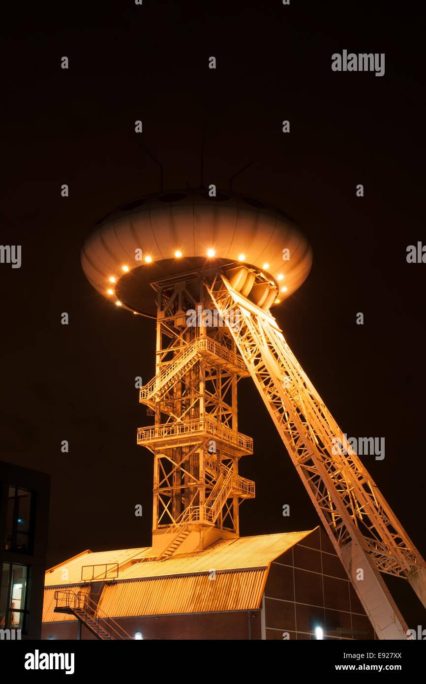 Colani Luentec-Tower (huevo) en Luenen, Alemania Imagen De Stock