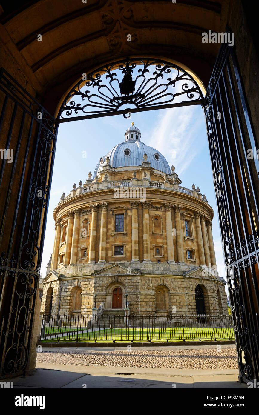 Cámara Radcliffe, Oxford, Inglaterra, Reino Unido. Imagen De Stock