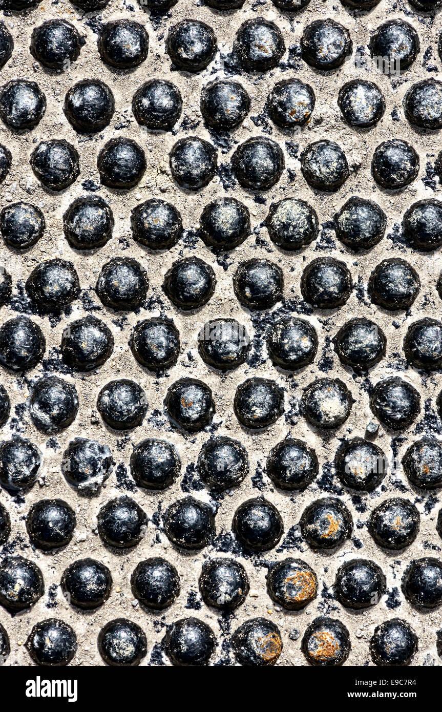 Fondo de texturas metálicas patrón Imagen De Stock