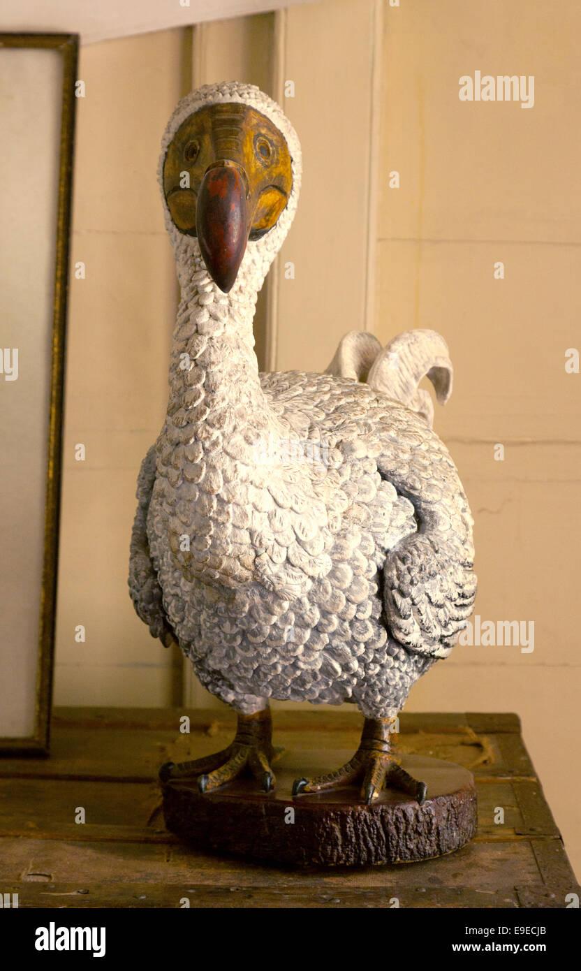 Estatua del Dodo, un ave no voladora extintos, Eureka, Casa, Mauricio Foto de stock