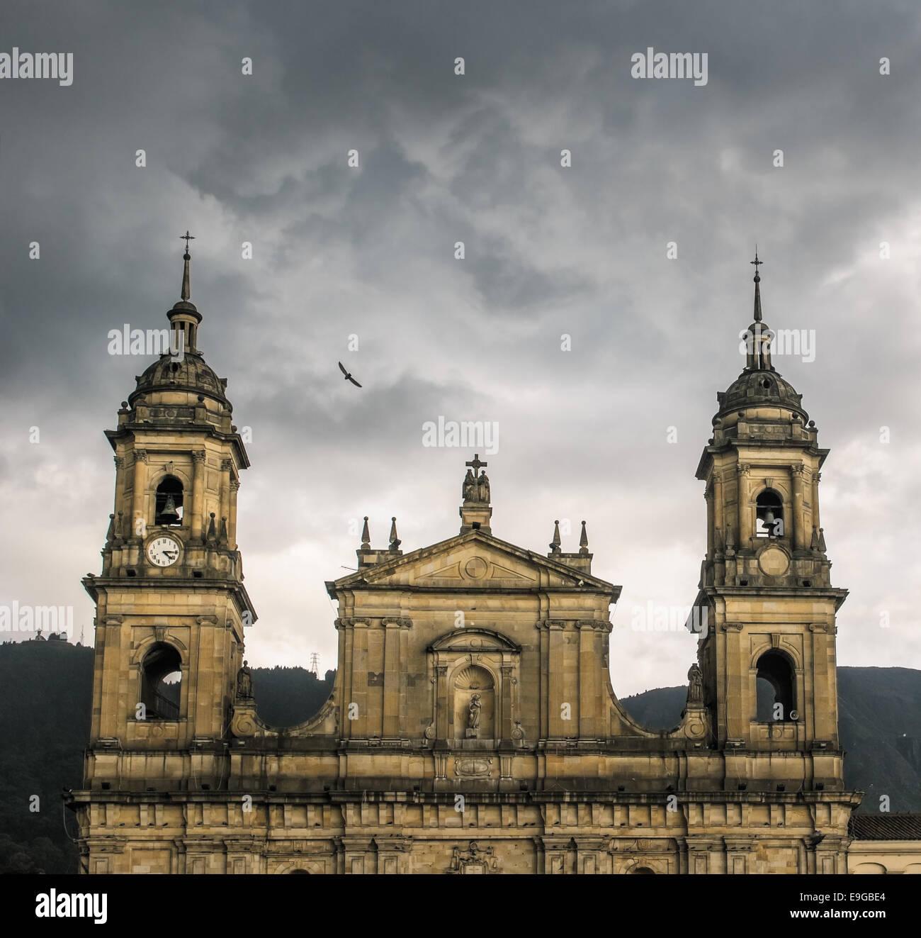 La Catedral Primada, Bogotá, Colombia Imagen De Stock