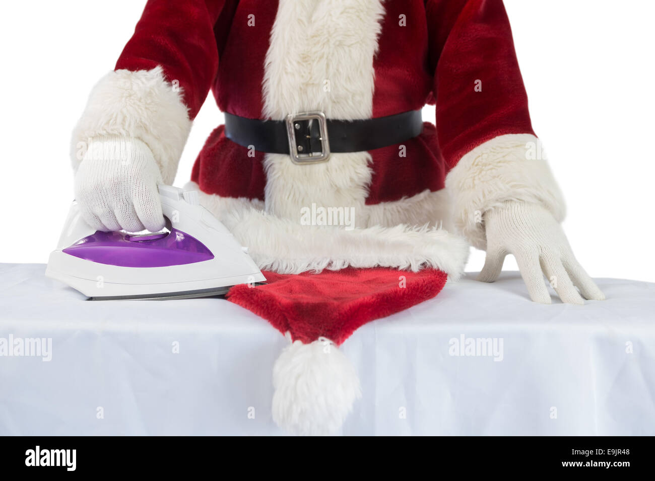 e0301a475b8ad Ironing Board Christmas Imágenes De Stock   Ironing Board Christmas ...