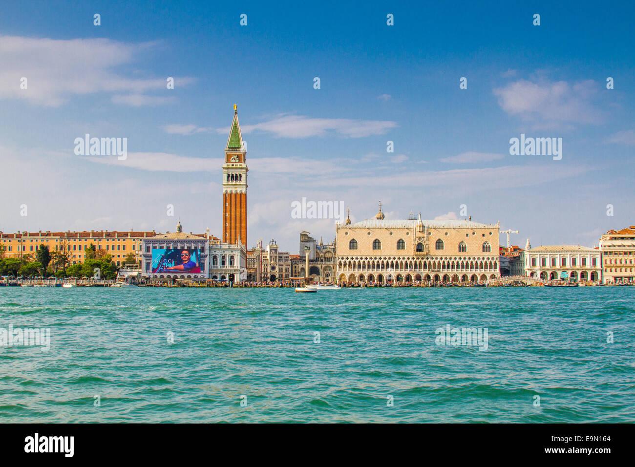 La Piazza San Marco, Venecia Foto de stock
