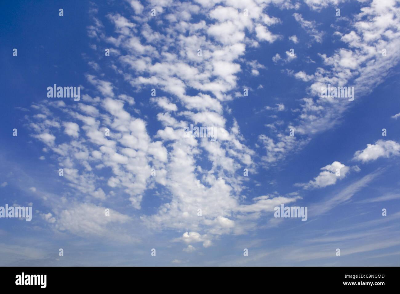 Las nubes Foto de stock