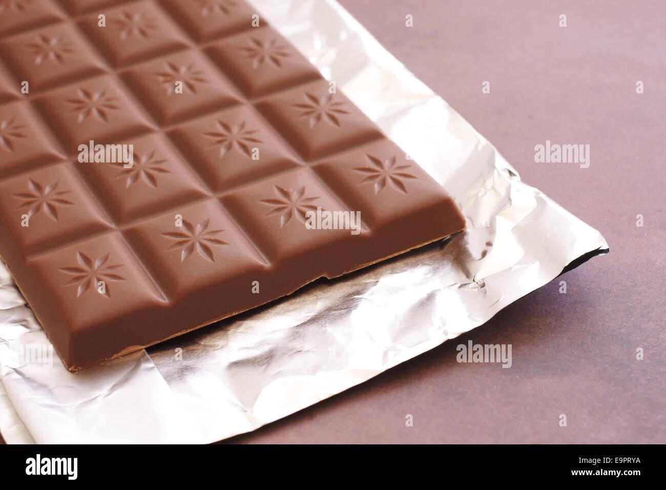 Bar Of Chocolate Wrapper Imágenes De Stock & Bar Of Chocolate ...