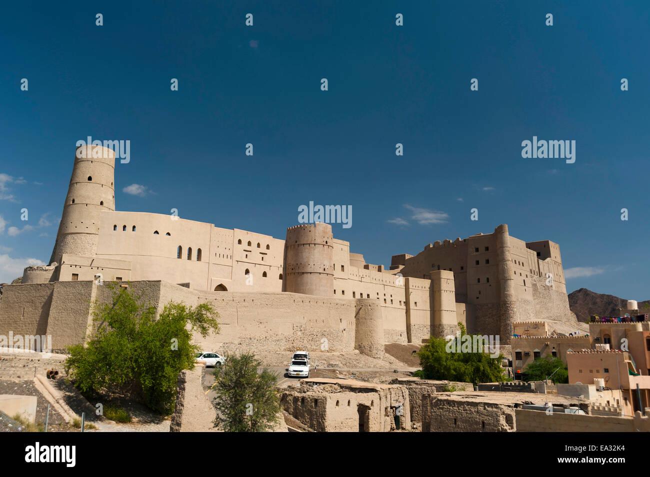 Fuerte de Bahla, Sitio del Patrimonio Mundial de la UNESCO, Omán, Oriente Medio Imagen De Stock