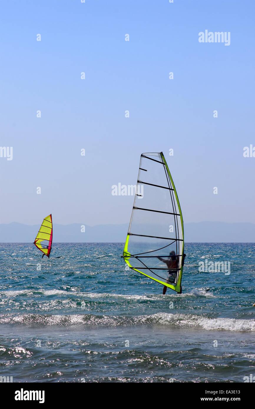 Windsurf Foto de stock