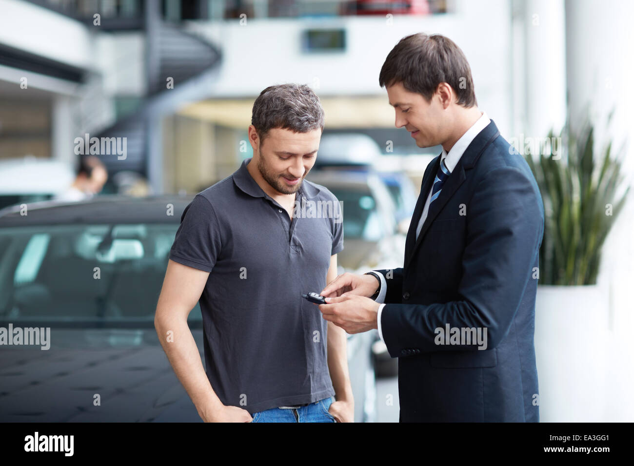 Venta de automóviles Imagen De Stock