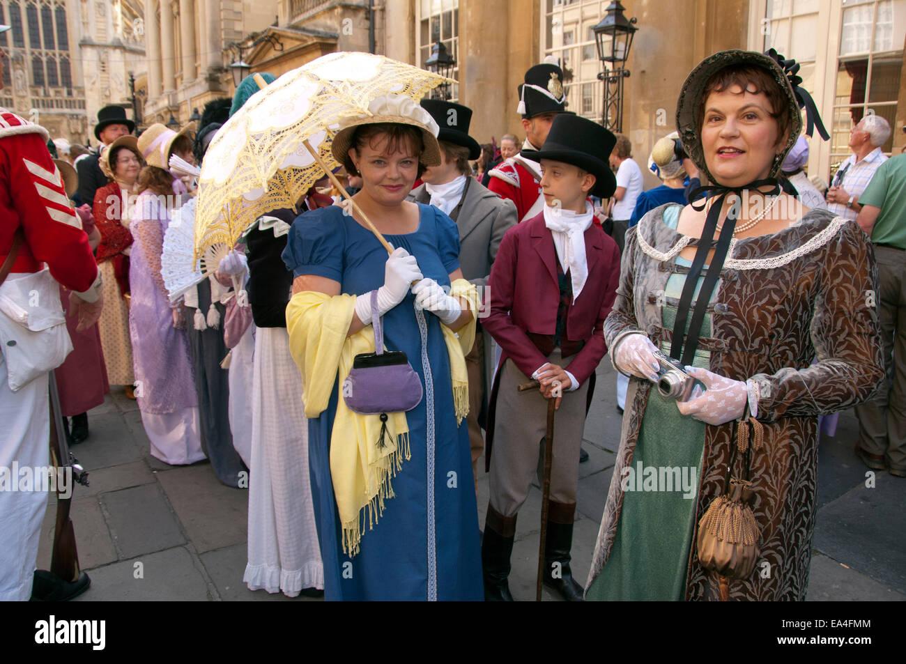 Jane Austen festival. Imagen De Stock