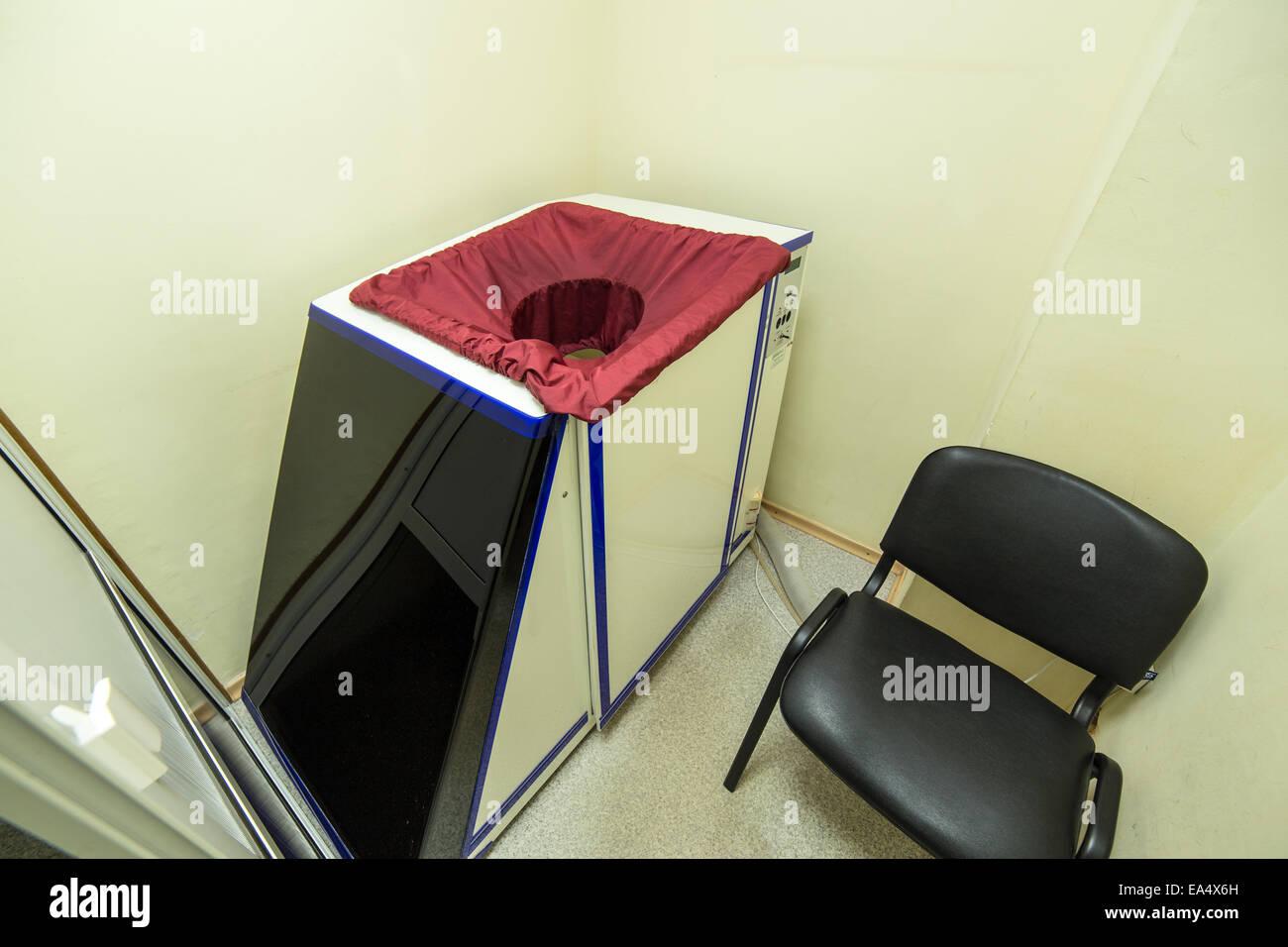 Nauheim baño, bañera de tratamiento de gas ácido carbónico Imagen De Stock
