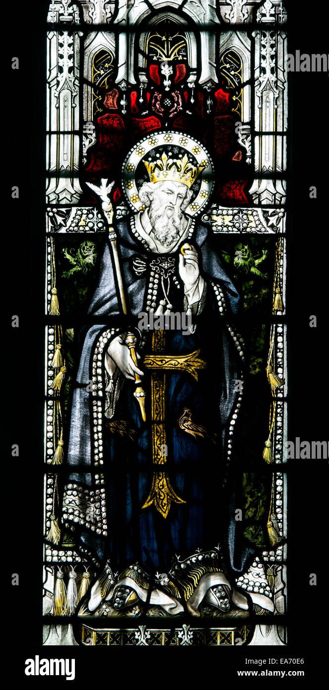 Eduardo el Confesor vidrieras, la Basílica de San Marco, Leamington ...