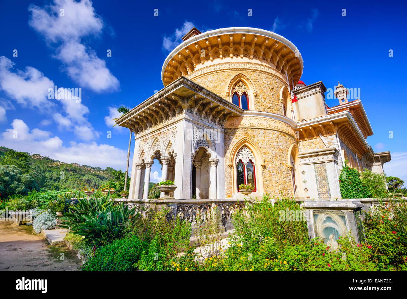 En Sintra (Portugal), el Palacio de Monserrate. Imagen De Stock