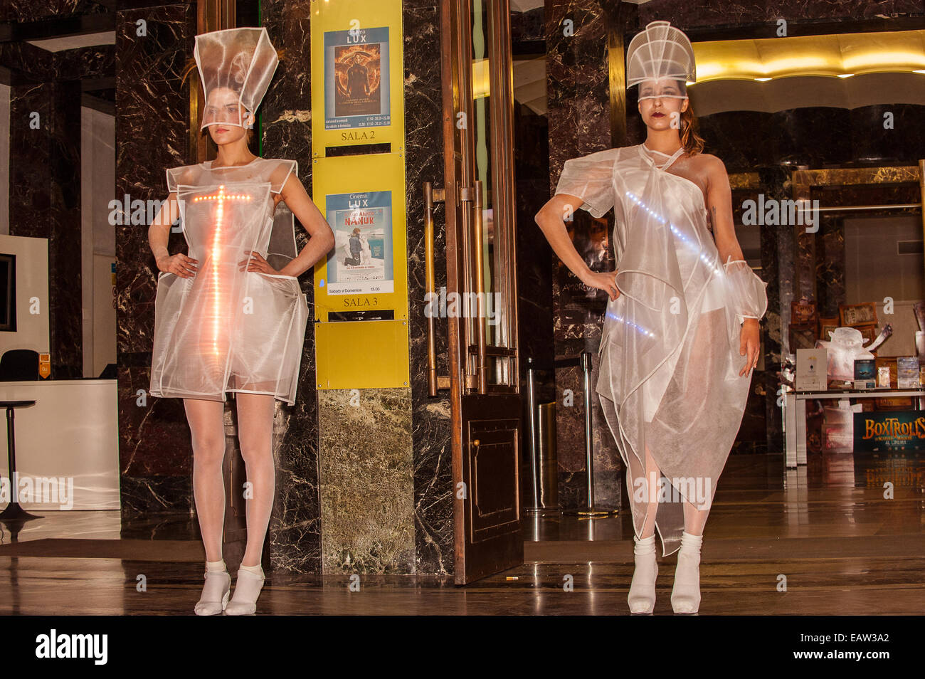 Turín Italia 20 De Noviembre De 2014 Inauguración De