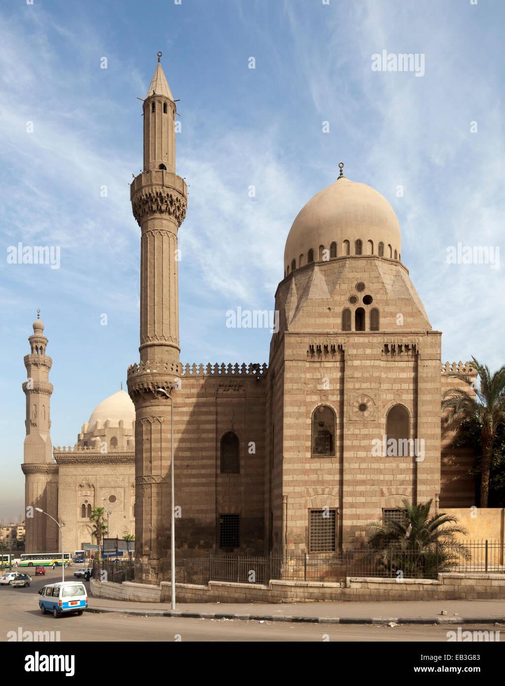 Masjid al-Mahmudiyya, Cairo, Egipto Foto de stock