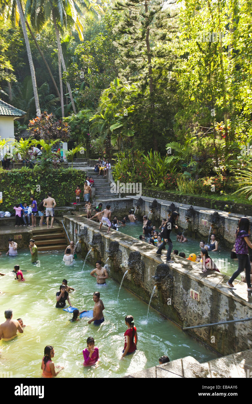 Air Panas hot springs, Banjar, Bali, Indonesia Imagen De Stock