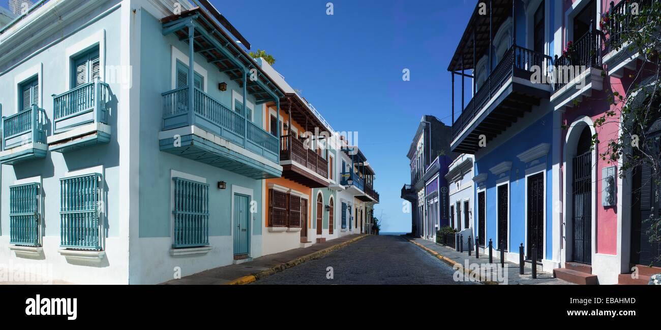 San Juan Puertorico el Viejo San Juan. Foto de stock