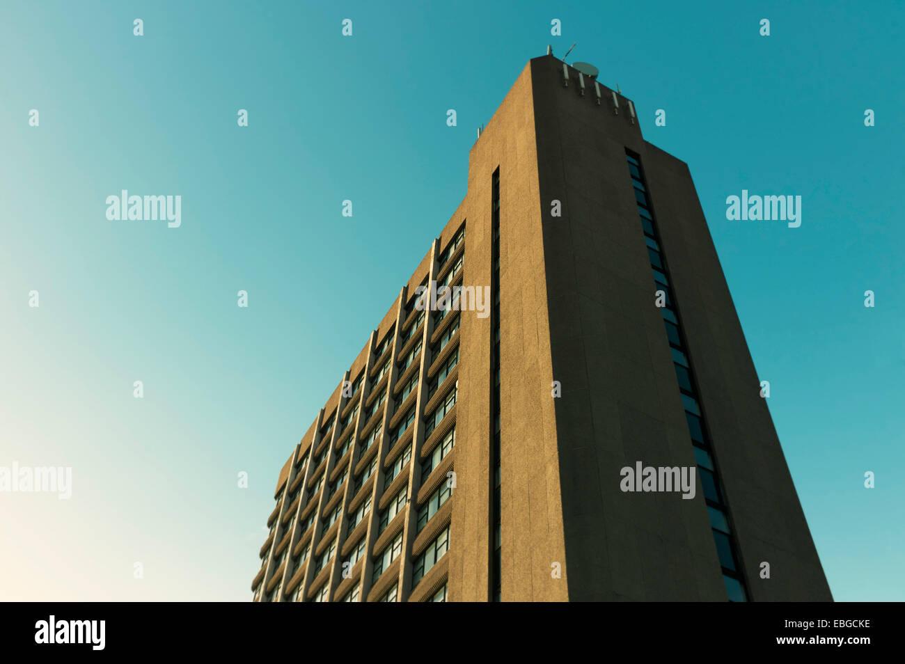 60s tower edificio de oficinas Imagen De Stock
