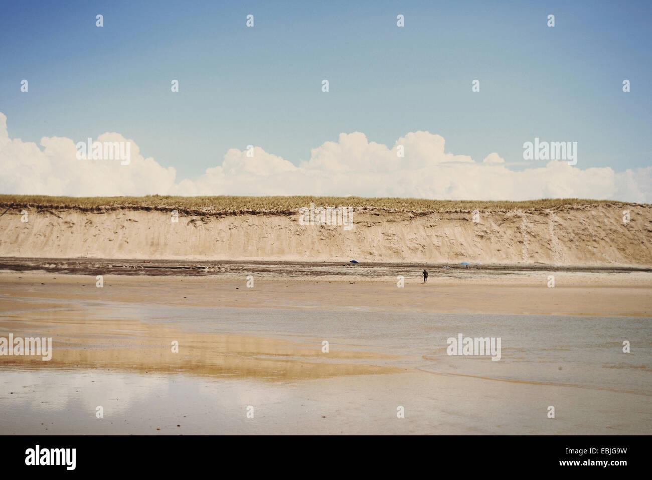 Playa, Lacanau, Francia Imagen De Stock