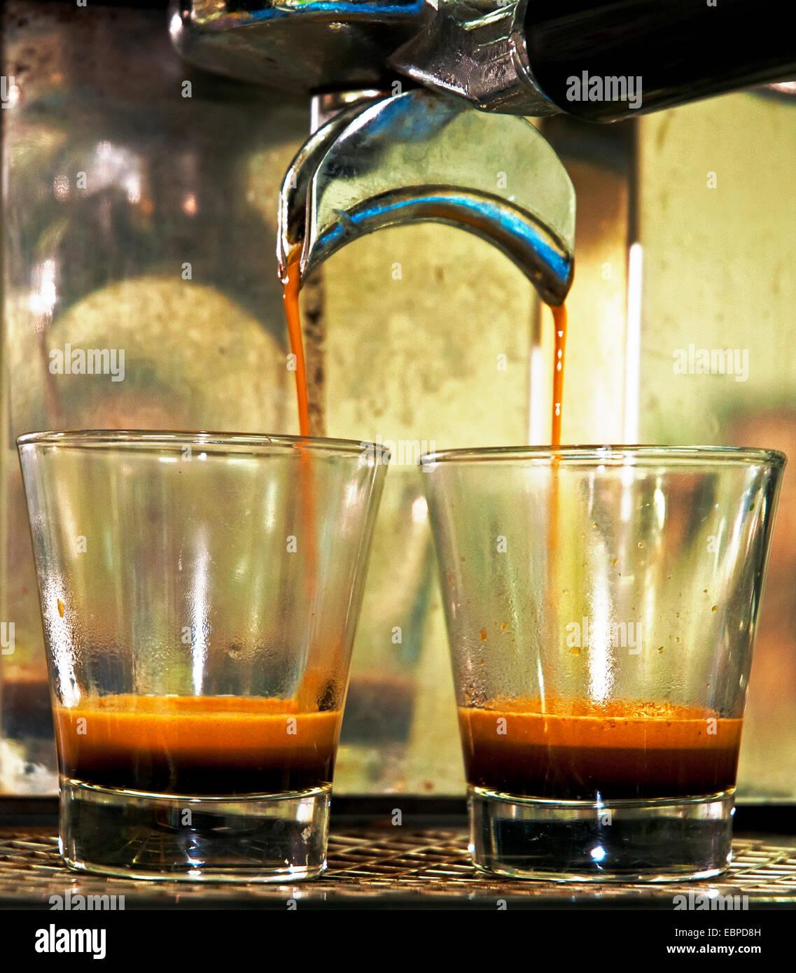 Café Espresso, Imagen De Stock