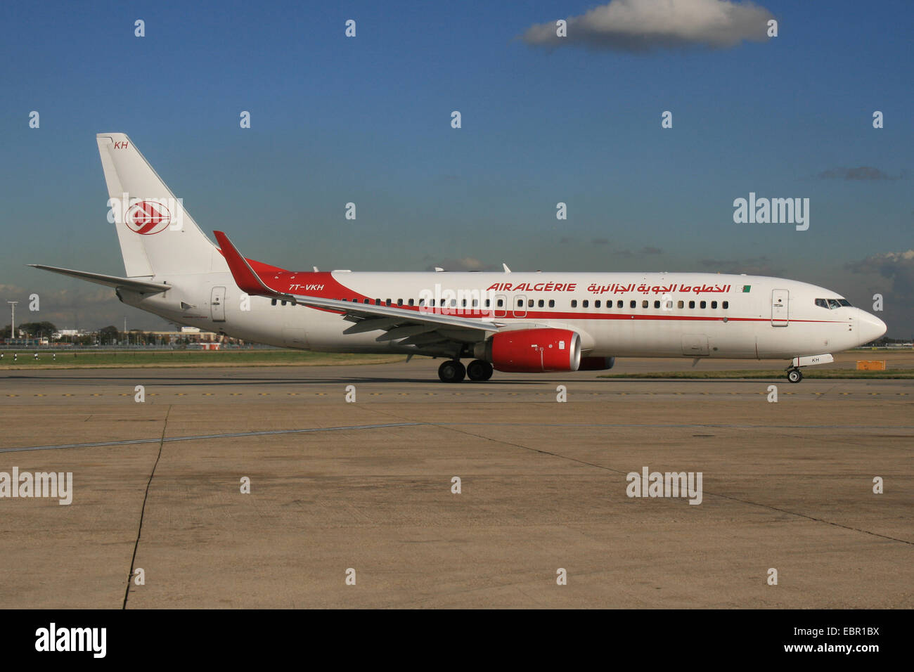 AIR ALGERIE Argelia 737 800 Imagen De Stock