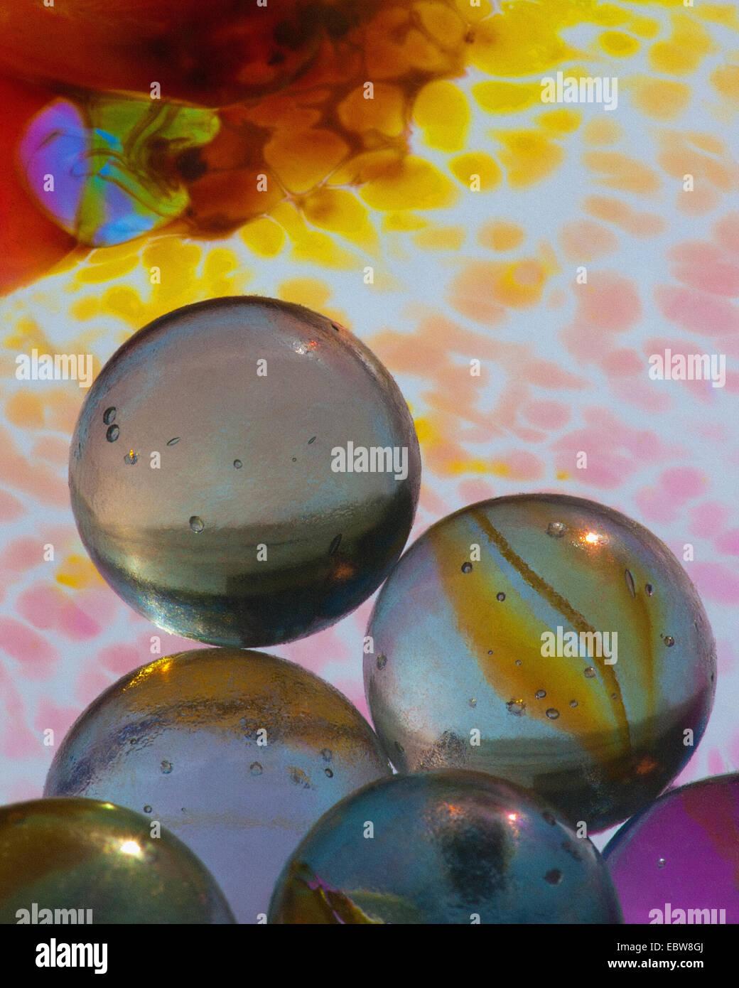 Arte fotográfico: Concepto de vidrio Imagen De Stock
