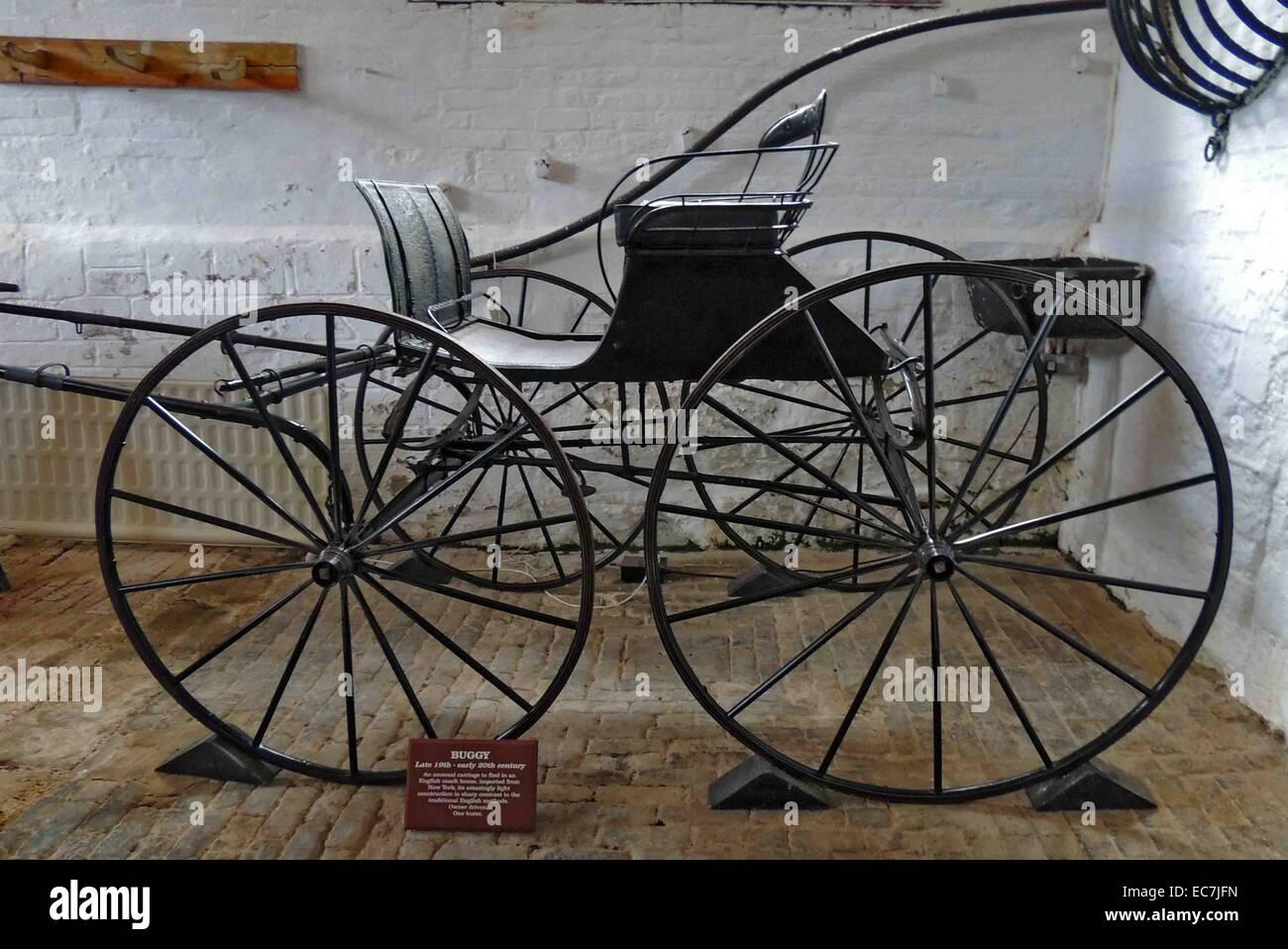 Buggy, finales de siglo XIX y principios del siglo XX. Imagen De Stock