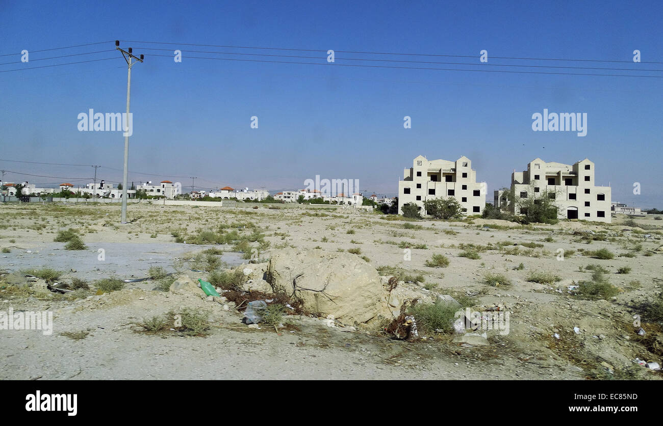 Jericó, en la Ribera Occidental, Palestina. Imagen De Stock