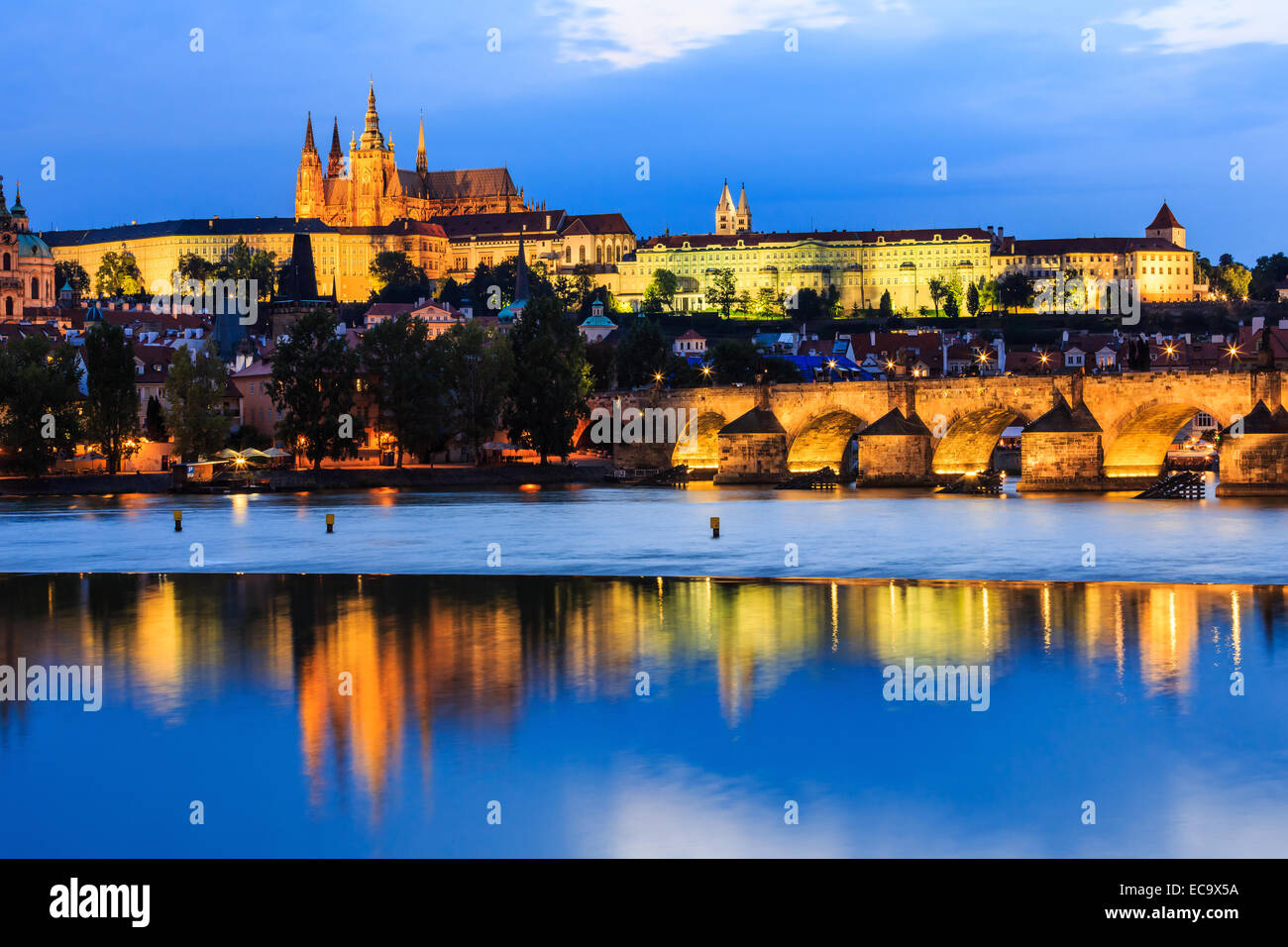 Praga, República Checa Imagen De Stock