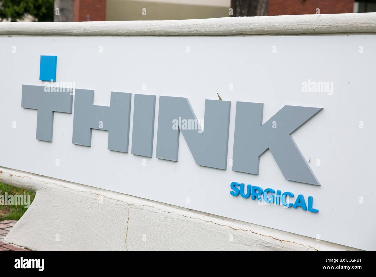 La sede de pensar quirúrgico. Imagen De Stock