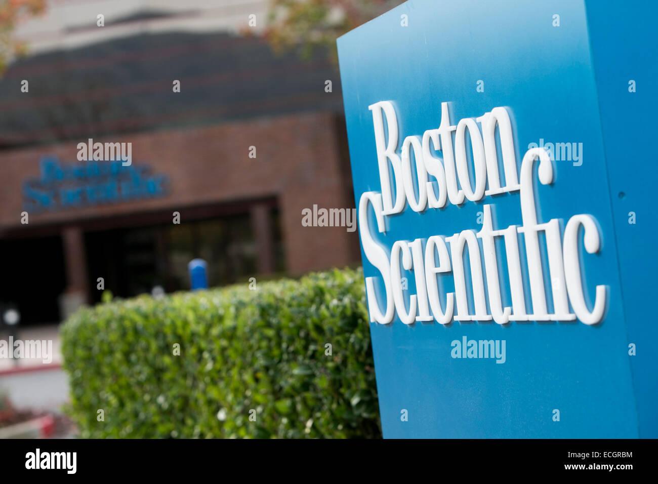 Un complejo de oficinas ocupadas por Boston Scientific. Imagen De Stock
