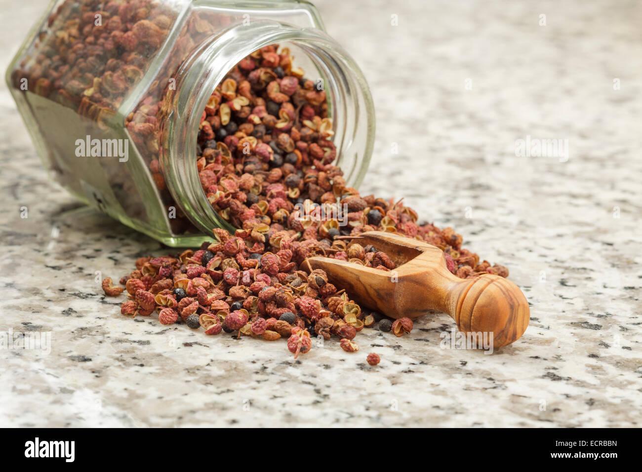 Pimienta de Sichuan Imagen De Stock