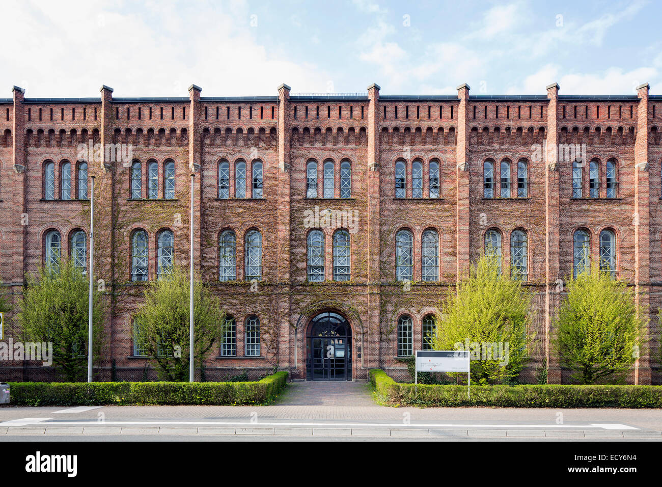 Edificio principal del departamento de arquitectura, Universidad de Jade, Oldenburg, Baja Sajonia, Alemania Imagen De Stock